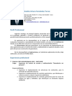 CV Andres Cusco
