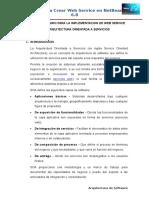 Manual de Usuario Para La Implementacion de Web Service