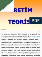 Üretim Teorisi - Mikro İktisat Ders Notları - KpssAnaliz.com