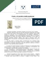 Seminari Arte Pazienza Roma Tre