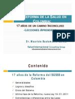 Comparacion Colombia Peru Sistema Salud