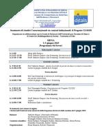 Programma Seminario CLODIS It