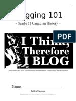 blogging package
