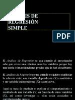 a6. Análisis de Regresión y Correlación