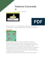 7-Guia de Pokemon Esmeralda Completa