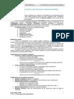 Tema 1. Introduccio¦ün a las te¦ücnicas instrumentales de ana¦ülisis