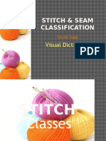 stitch   seam classification visual dic