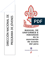 Manual de Uniforme e Insignias