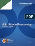 Dcap107 Dcap404 Object Oriented Programming