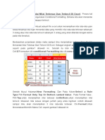 Cara Mudah Menandai Nilai Terbesar Dan Terkecil Di Excel