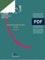 Cuaderno de Trabajo Aportes Sobre El Activismo de Las Mujeres Por La Paz