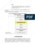 Instrumentacion de La Auditoria Administrativa