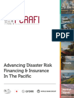 Pacific Catastrophe Risk Assessment and Financing Initiative - Advancing Disaster Risk Financing & Insurance in the Pacific - Feb 2015