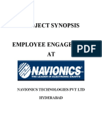 Synopsis Employee Engagement at Navionics