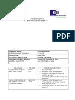 Format Performance Appraisal - KRA Form