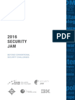 Stockholm International Peace Research Institute - 2016 Security Jam - Beyond Conventional Security Challenges - Summer 2016