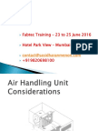 Air Handling Units (AHUs)