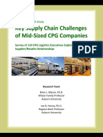 Lean and Mean-How Does Your Supply Chain Shape Up