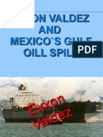 Exxon Valdez and Mexico's Gulf Oil Spill