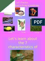Characteristics of Life PPT