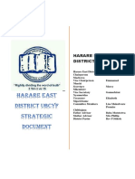 UBCYF Harare East Strategic Document