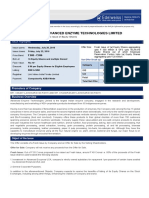 Product Note - Advance IPO