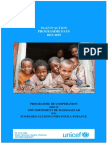 UNICEF, Plan d'Action Programme pays 2015-2019, Antananarivo