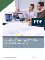 Catalog Training SITRAIN SIEMENS Romania 2016 v1b