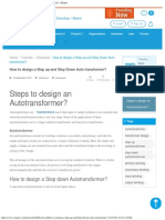 How to Design a Step Up and Step Down Auto Transformer_ _ Mepits