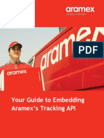 Shipments Tracking API Manual