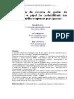 A relevância do sistema de gestão da qualidade e o papel da contabilidade nas PME´s portuguesas_Ferreira.Saraiva.Novas