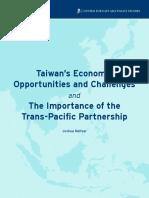Taiwan Trans Pacific Partnership Meltzer 012014