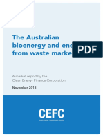 The Australian Bioenergy and Energy From Waste Market Cefc Market Report