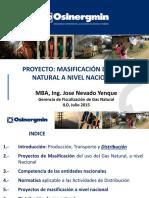 Proyecto Masificacion Uso Gas Natural Nivel Nacional