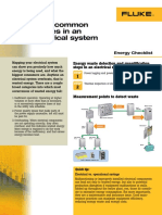 Common Waste in Electrical Sysytem