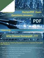 100% Exam Passing Guarantee on 70-412 | Dumpspdf