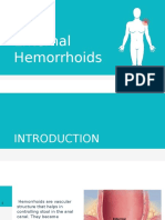 External Hemorrhoids