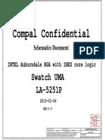HP Elitebook 2540P - COMPAL LA-5251P SWATCH-UMA - REV 0.9.pdf