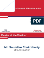 Fiinovation Webinar on Poverty,Climate Change & Affirmative Action