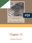 Thomas Et Chap 15 Multiple Integrals 1
