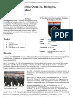 1º Batalhão de Defesa Química, Biológica, Radiológica e Nuclear – Wikipédia, A Enciclopédia Livre