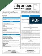 Boletín Oficial de la República Argentina, Número 33.424. 22 de julio de 2016