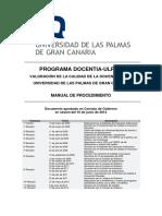 DOCENTIA Universidad de Las Palmas