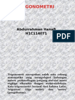 Abdurrahman Hanafi H1C114071