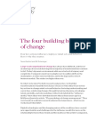 The Four Building Blocks of Change