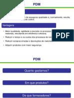 Apresentação PDM