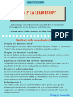 Tutorial Leadership 2