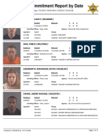 Peoria County Jail Booking Sheet for July 22, 2016