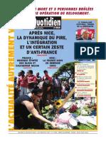 Le Quotidien Doran Du 21.07.2016
