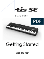 Kurzweil Artis SE Getting Started